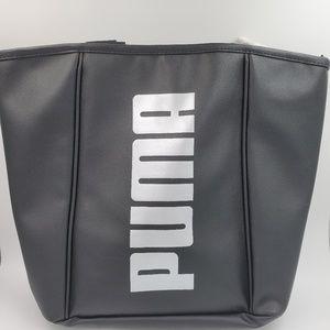 Puma Tote | Black Faux Leather Evercat NWT